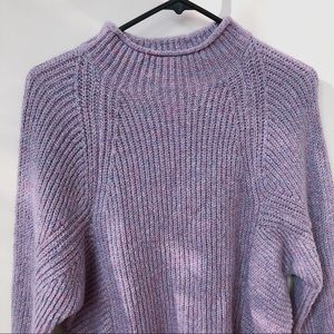 Chico's lavender purple color knit sweater